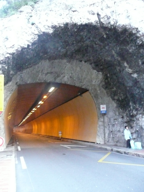 Terowong tengah bandar!